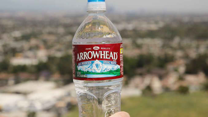 California drought can't stop production of bottled water