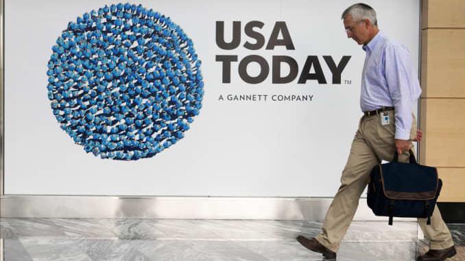 GateHouse buying USA Today owner Gannett for $1 4 billion