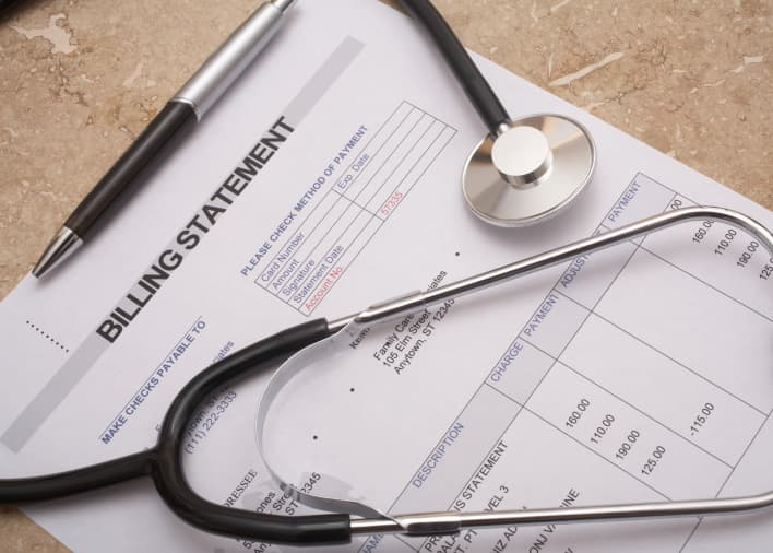 Premium: Medical bill debt health care costs