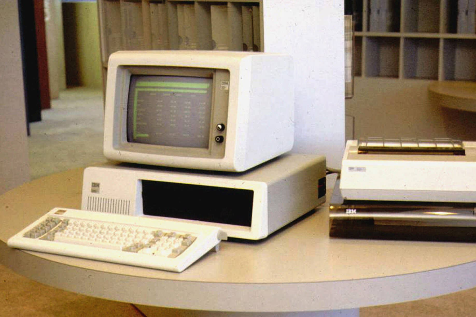 A look back at the first IBM computer