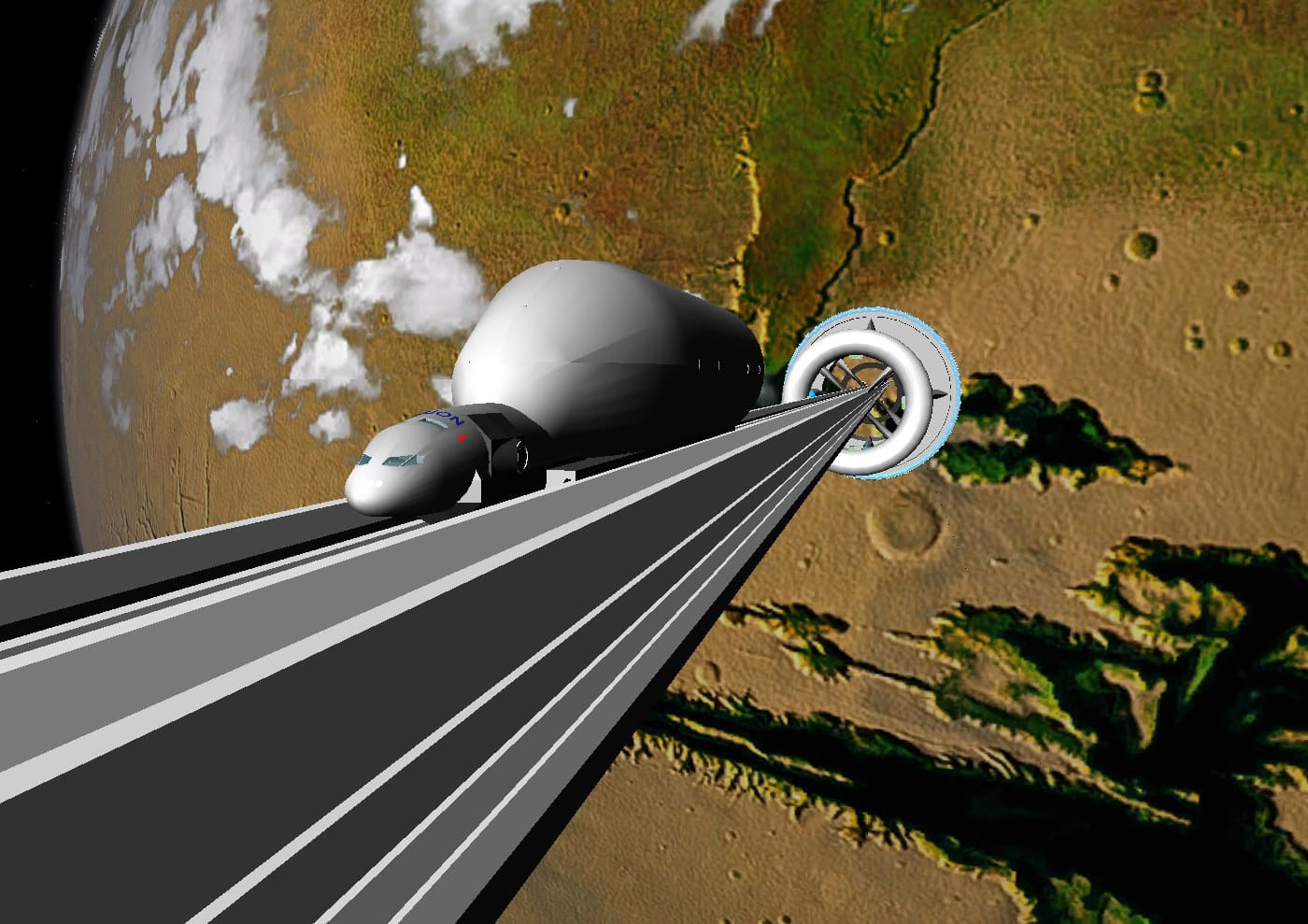 Japanese firm to build space elevator by 2050