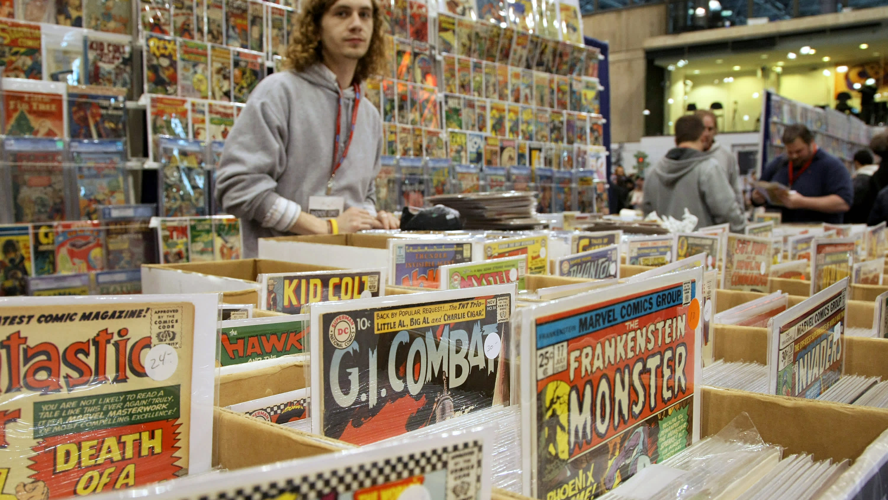Why comic books are big business