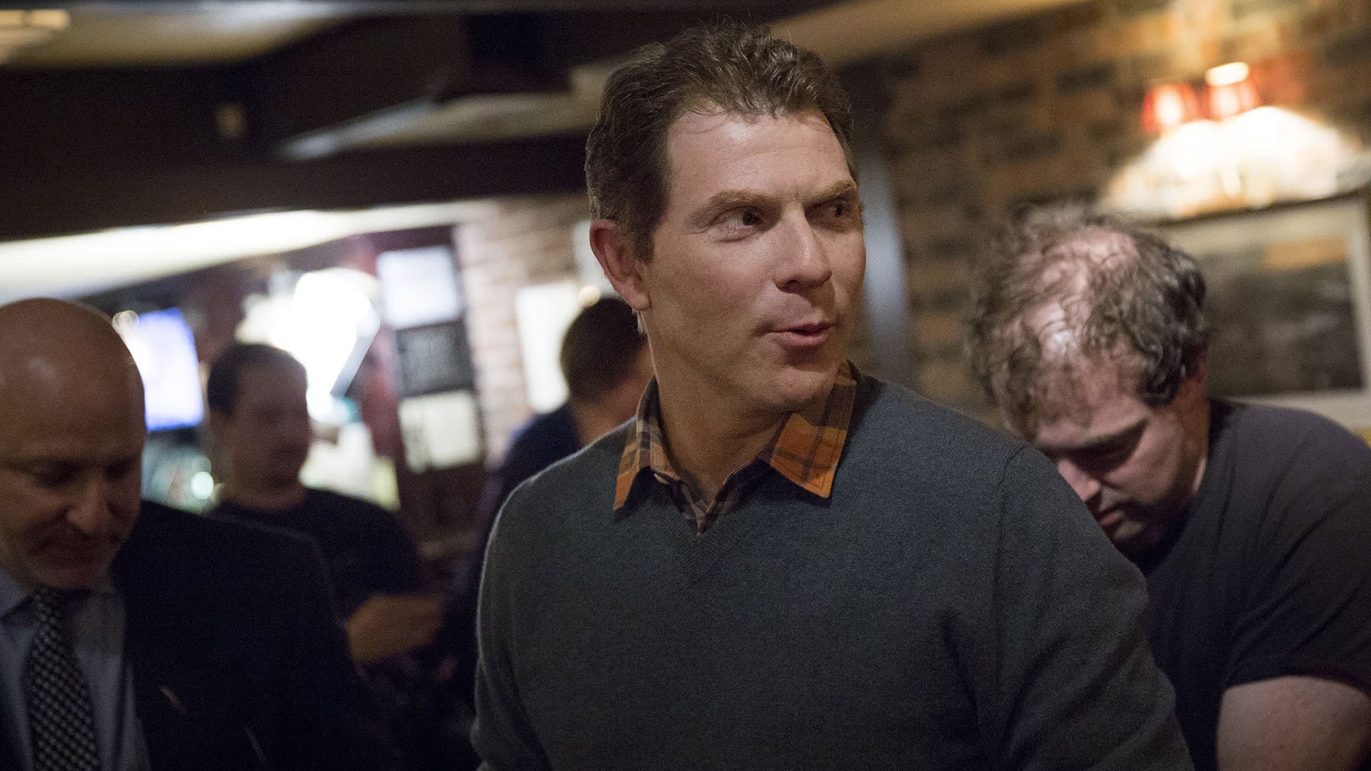 Celebrity chef Bobby Flay isn't buying into the meatless burger craze, yet