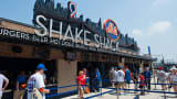 The Shake Shack stand at Citi Field is shown in this May 28, 2012 photo in the Queens borough of New York.