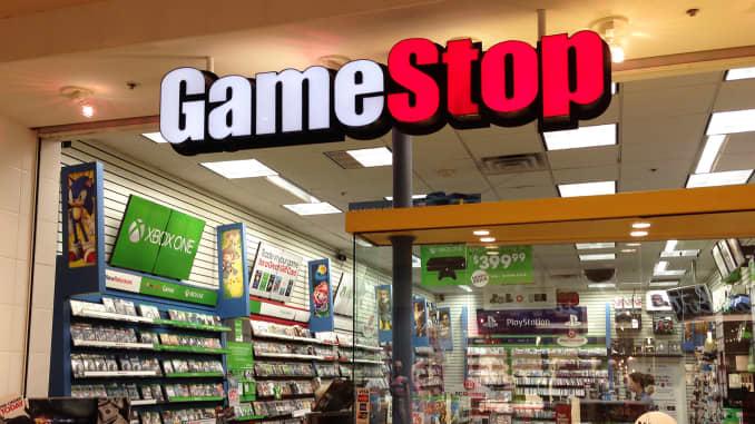 Shares of GameStop plummet on reports of lost sales