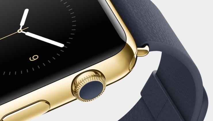 Reusable: Apple Watch black gold