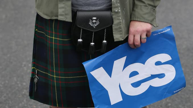 Whither will Scottish kilt prices go, eh?