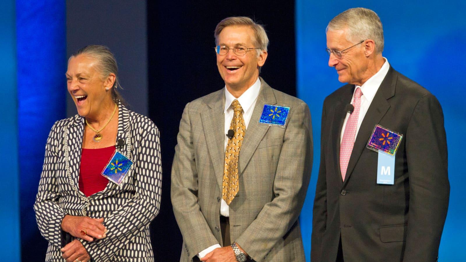 The Walton family is worth more than Jeff Bezos or Bill Gates