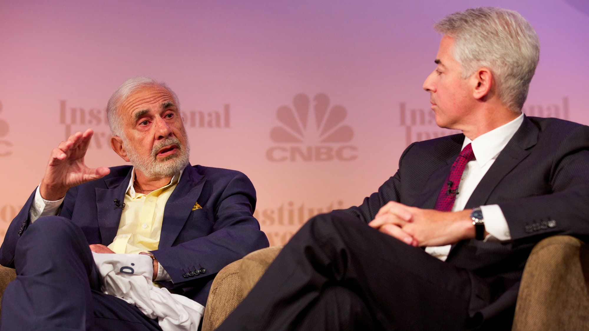 How the Icahn-Ackman 'Battle of the Billionaires' on CNBC became a defining moment of the decade