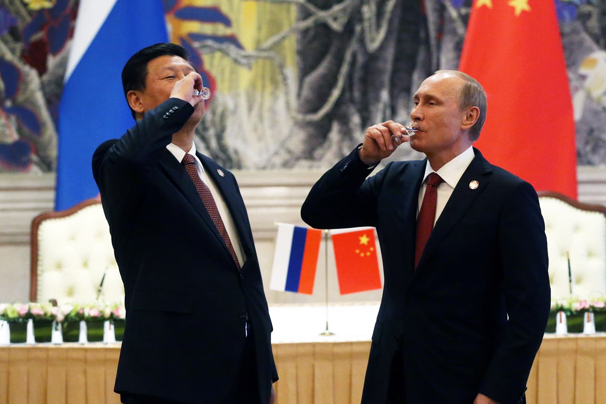 Russia is helping China to build a missile defense system, Putin says