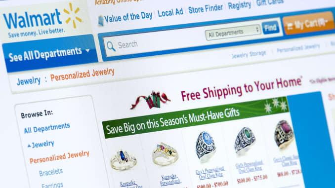 Wal Mart Cyber Monday Online Sales Break Record