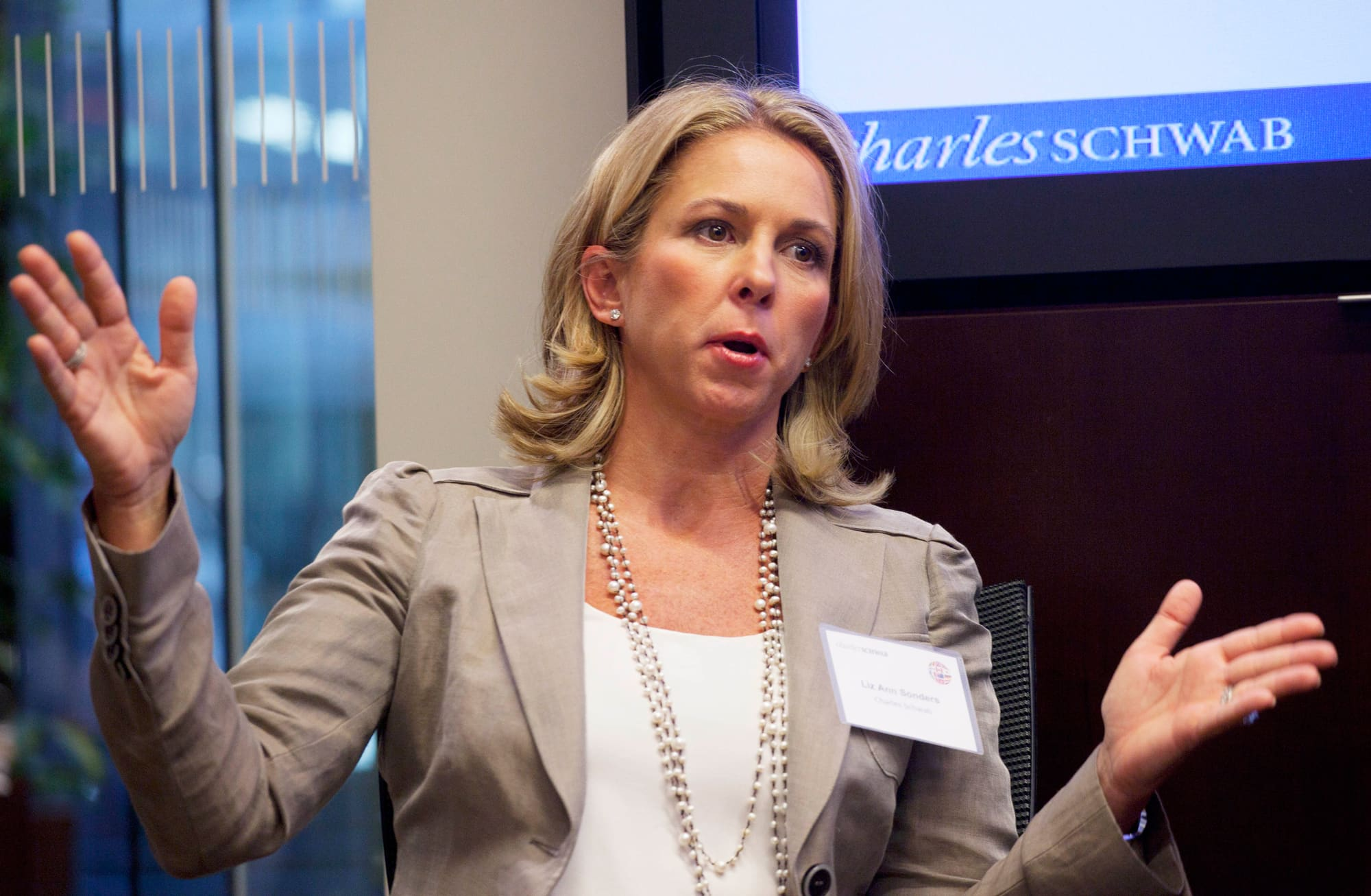 Liz Ann Sonders, Charles Schwab's chief investment strategist
