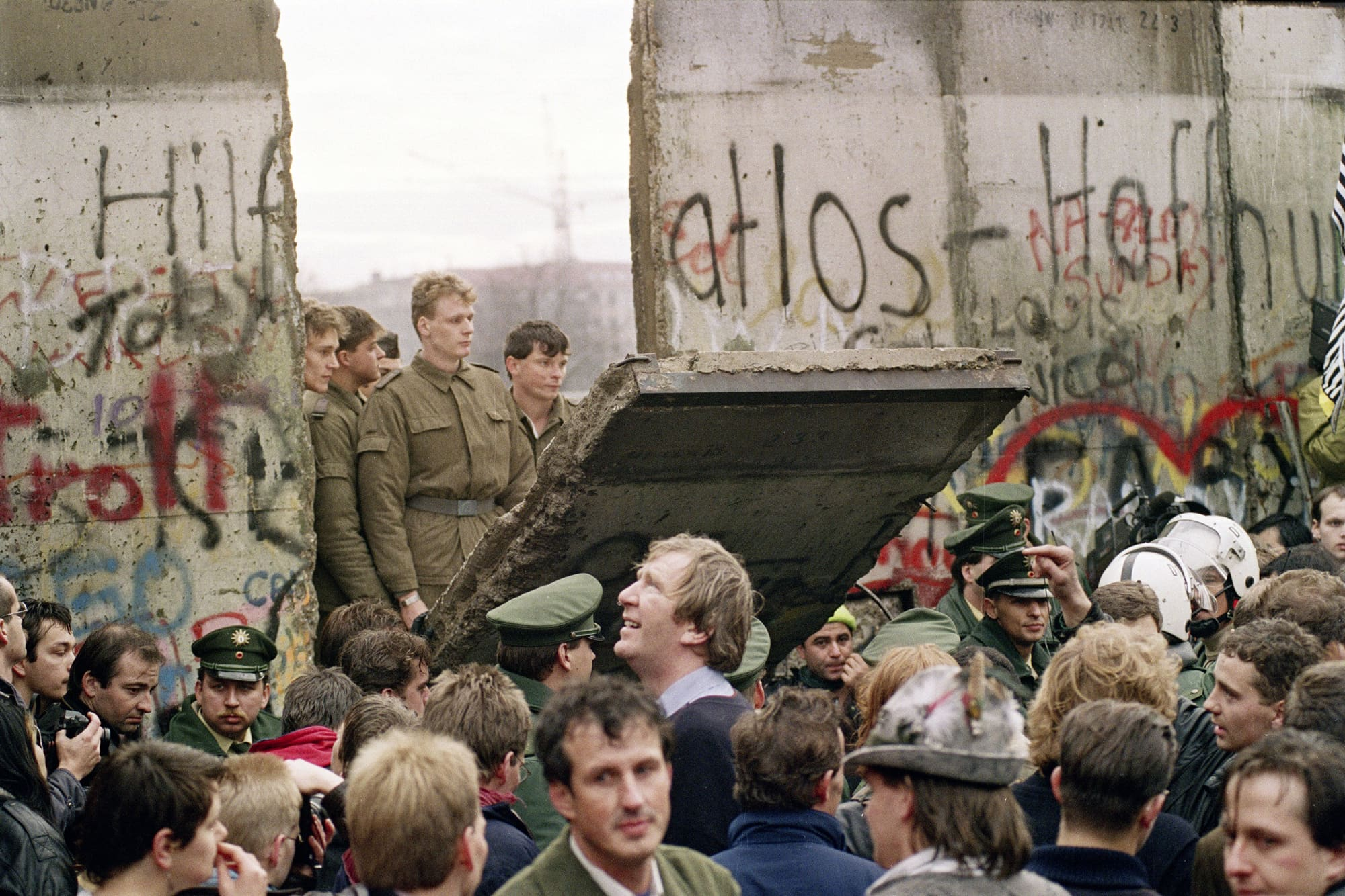 30 years after the Berlin Wall's fall, the US and its allies now confront an even more formidable competitor