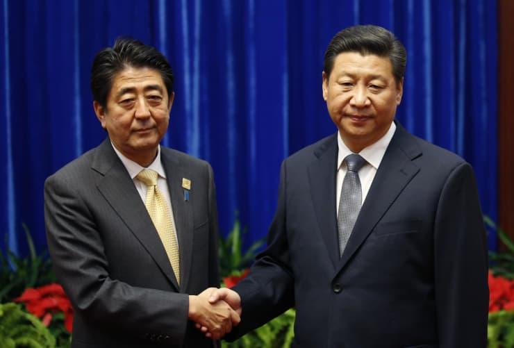 GS: Abe meets Xi at APEC