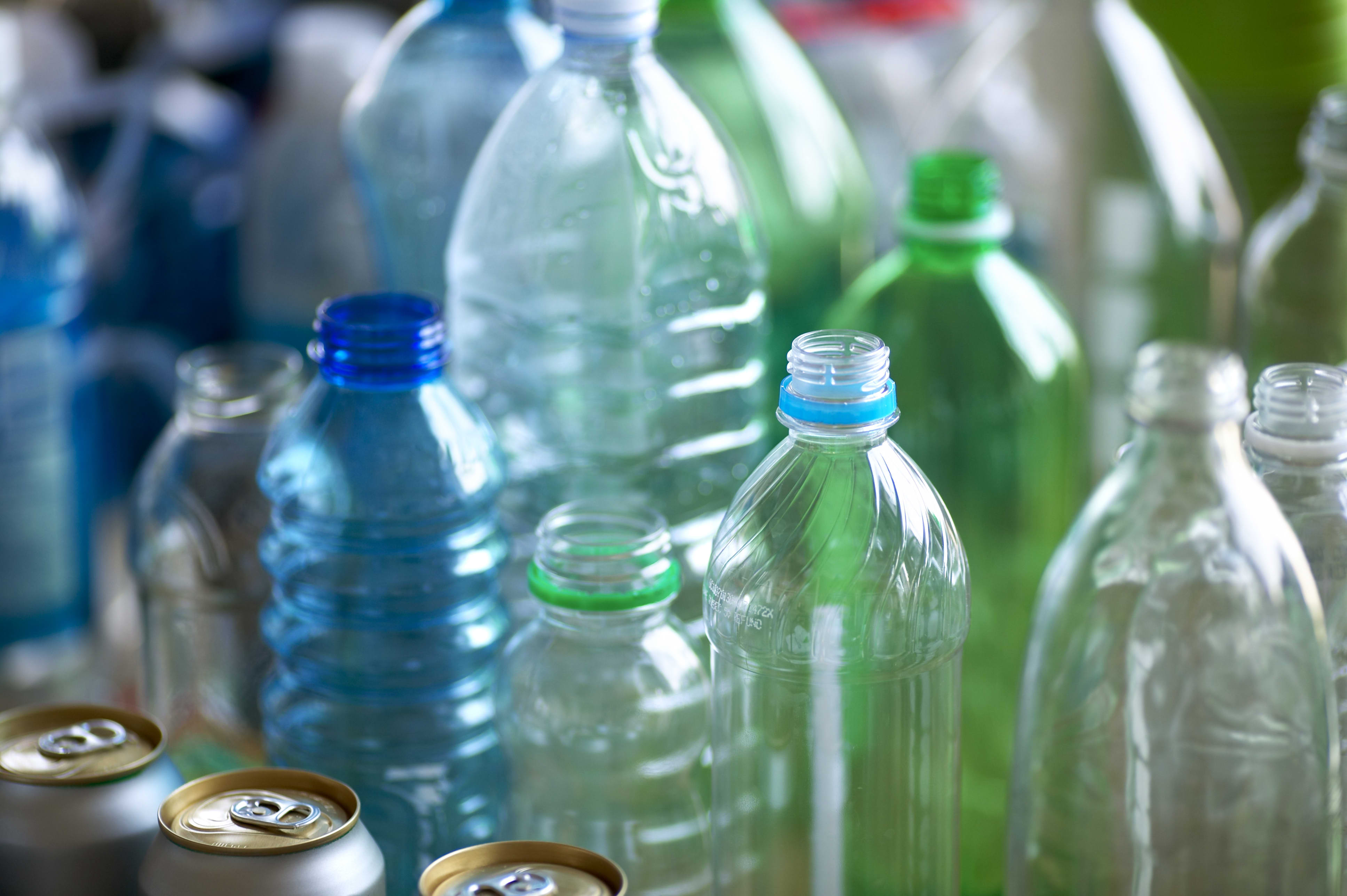 Almost no plastic bottles get recycled into new bottles