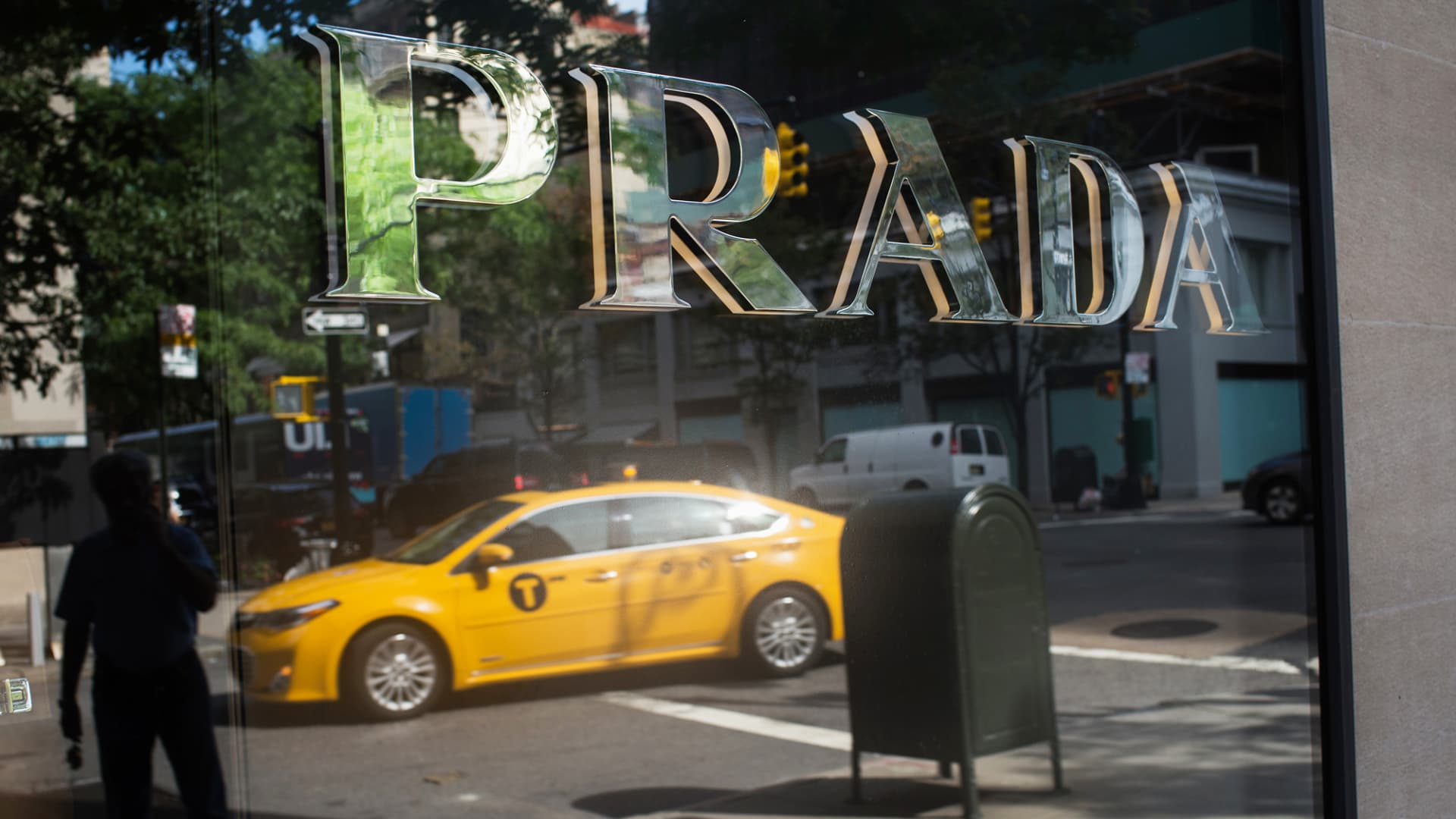 A Prada store in New York.