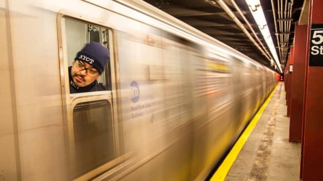 Premium: New York City subway train, MTA