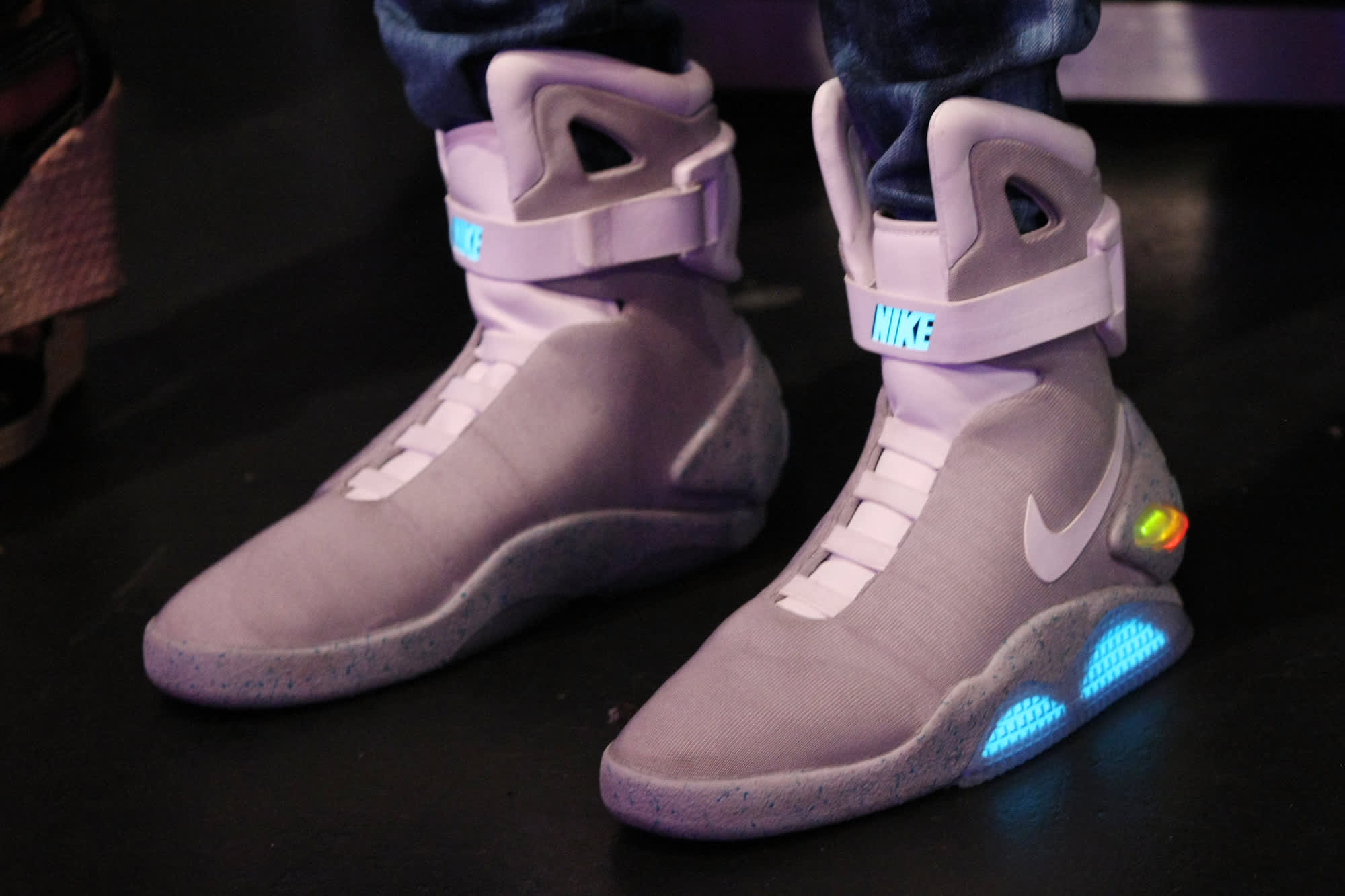 Back to the Future' Nike Mag shoes can be yours CNET