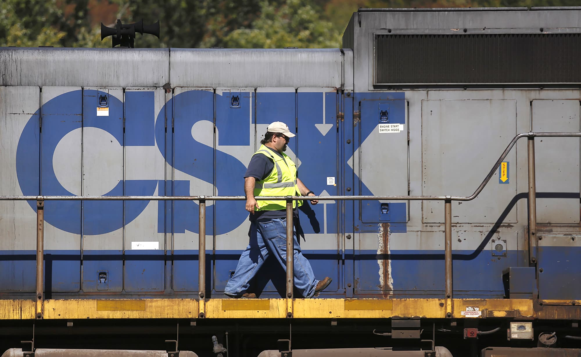 CSX customers will likely bear the burden of higher steel