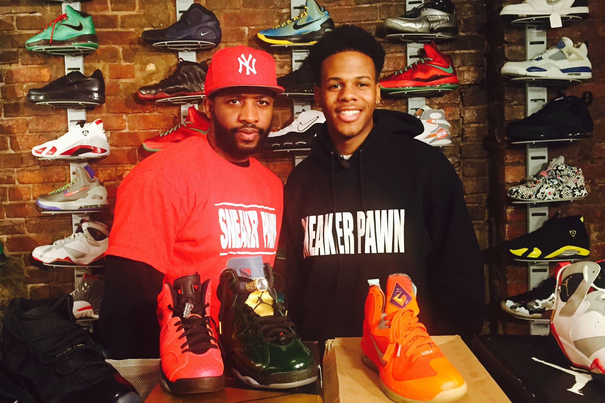 5157d1a3907a82 How teen entrepreneur created a profitable sneaker pawn shop
