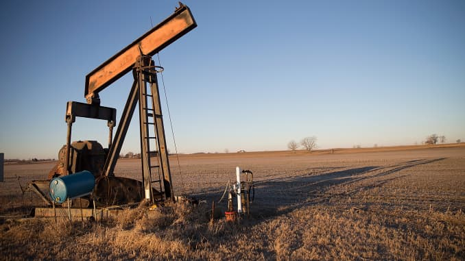 Reusable: Idled oil pump jack