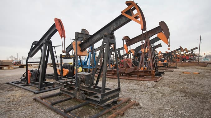 Reusable: Idled oil pump jacks
