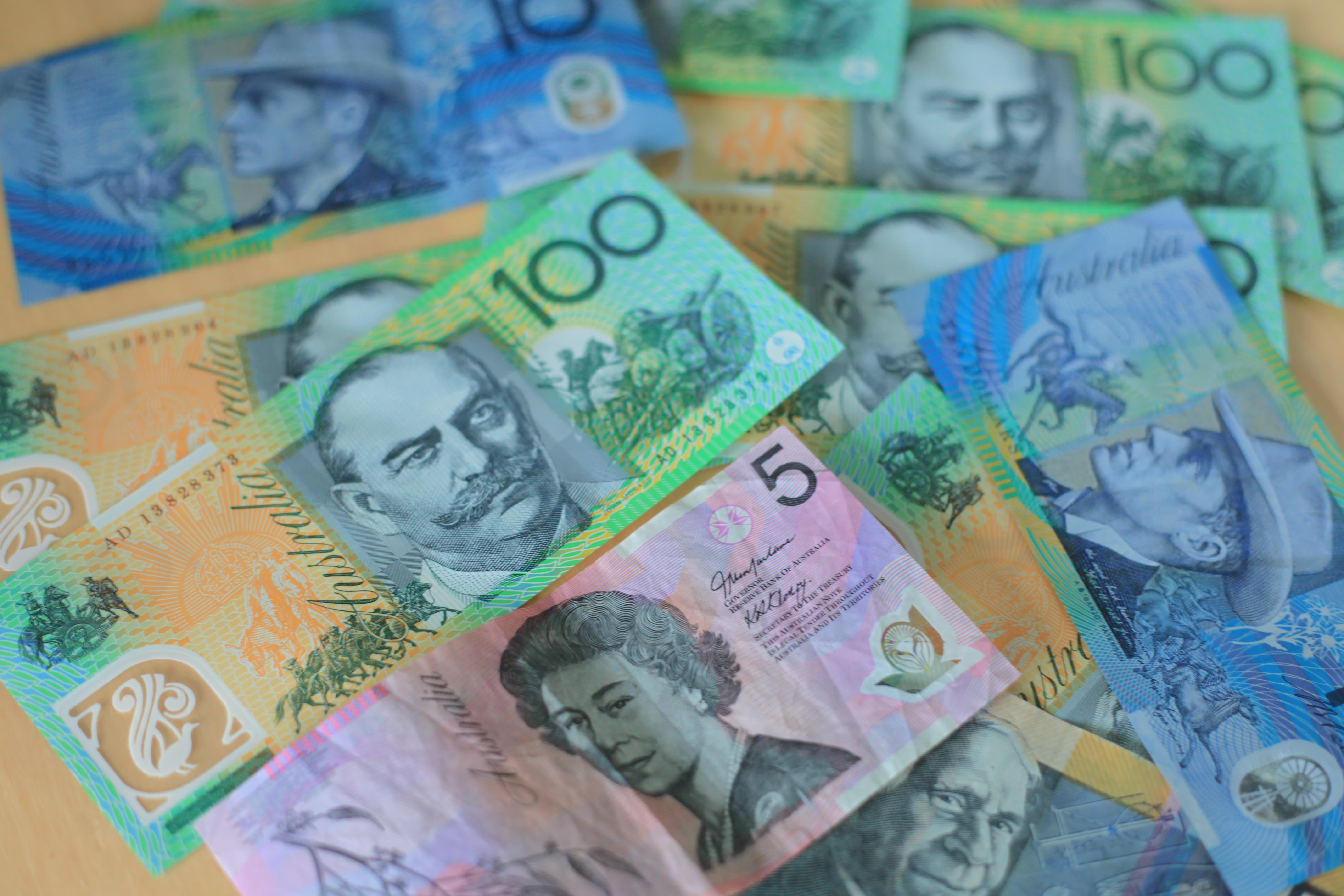 Reusable Australian Dollar AUD b 150223