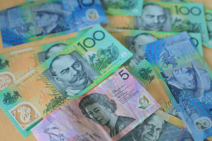 Reusable Australian Dollar AUD b 150223