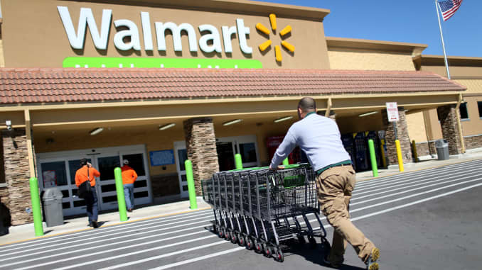 half off 4f383 184a2 Walmart to test self-driving delivery from warehouse to ...