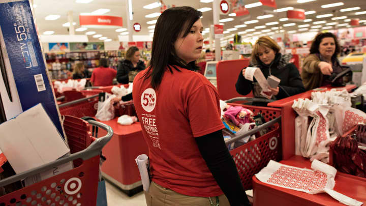 Target says cash registers back online and customers can make purchases again after systems outage