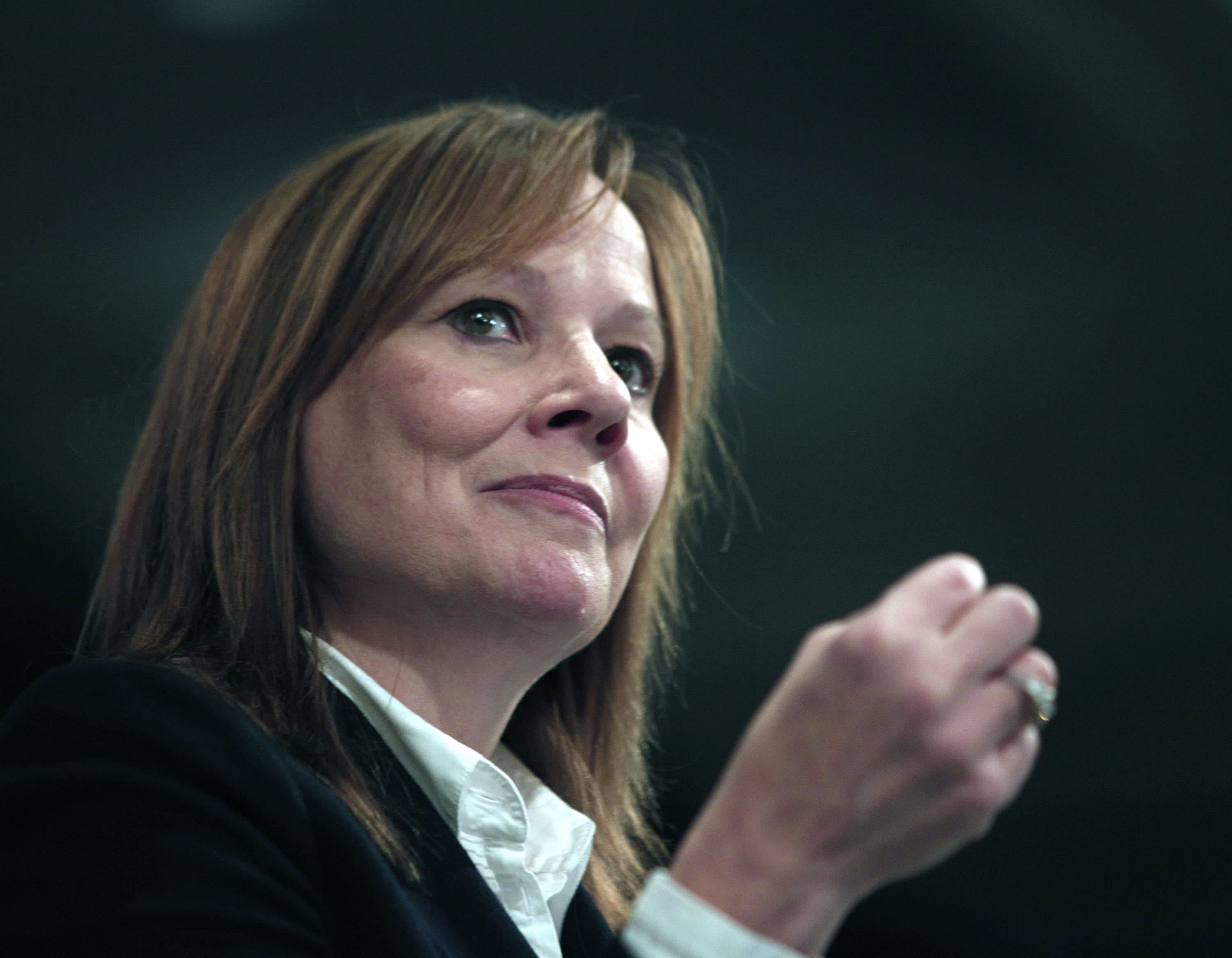 General Motors Chief Executive Officer Mary Barra.