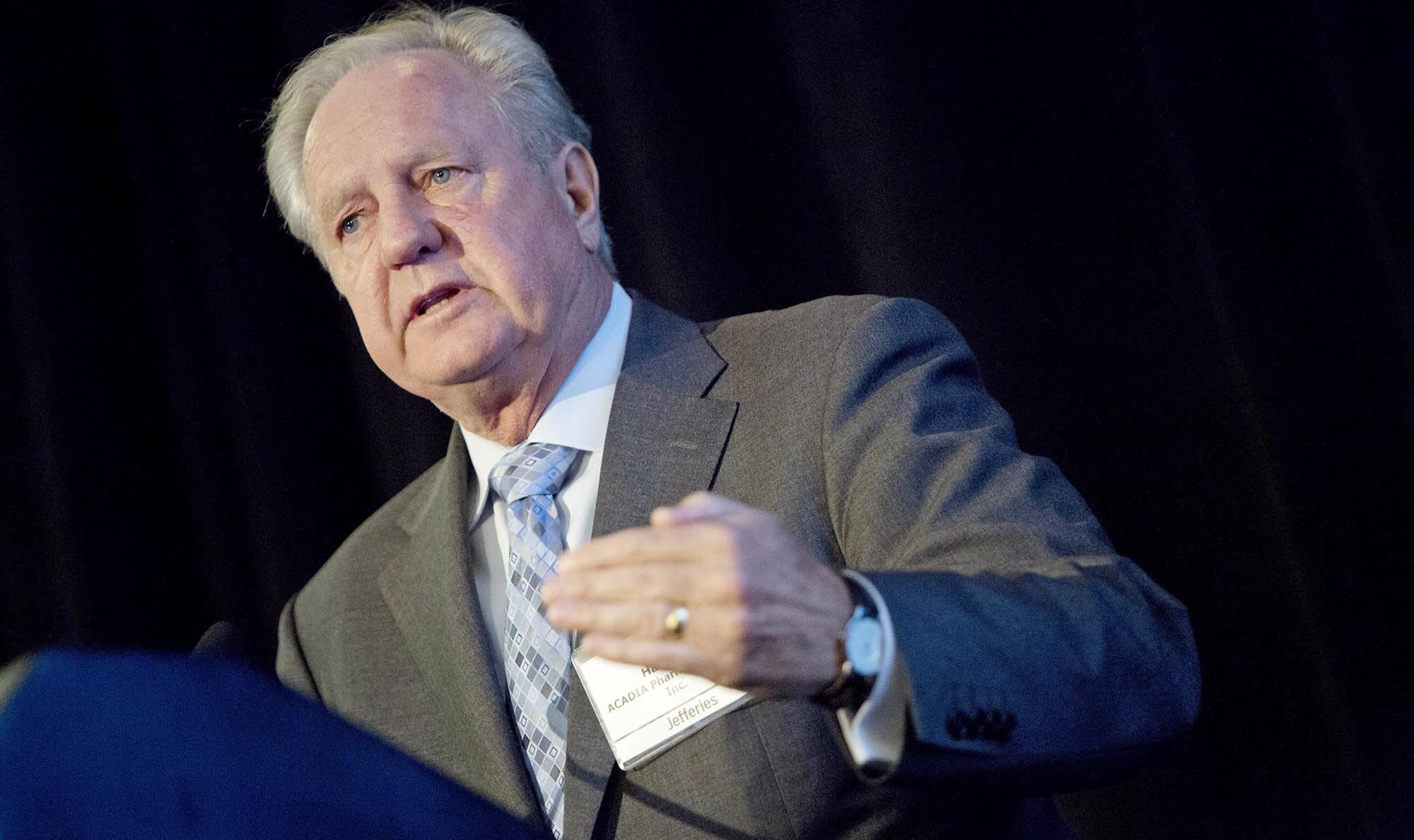 Acadia Pharmaceuticals tanks on CEO retirement