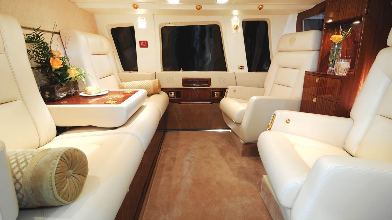 Inside Donald Trump S 7 Million Private Chopper