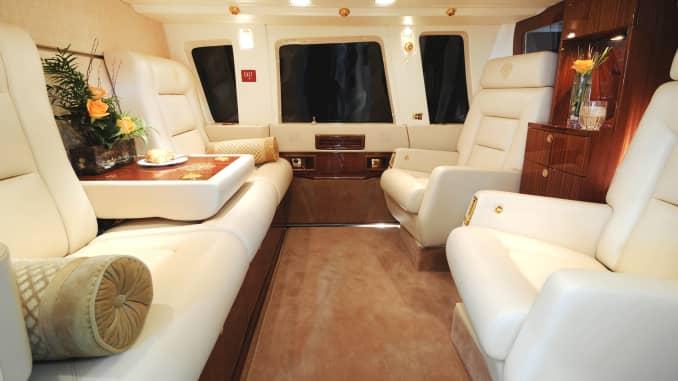 Inside Donald Trump's $7 million private chopper