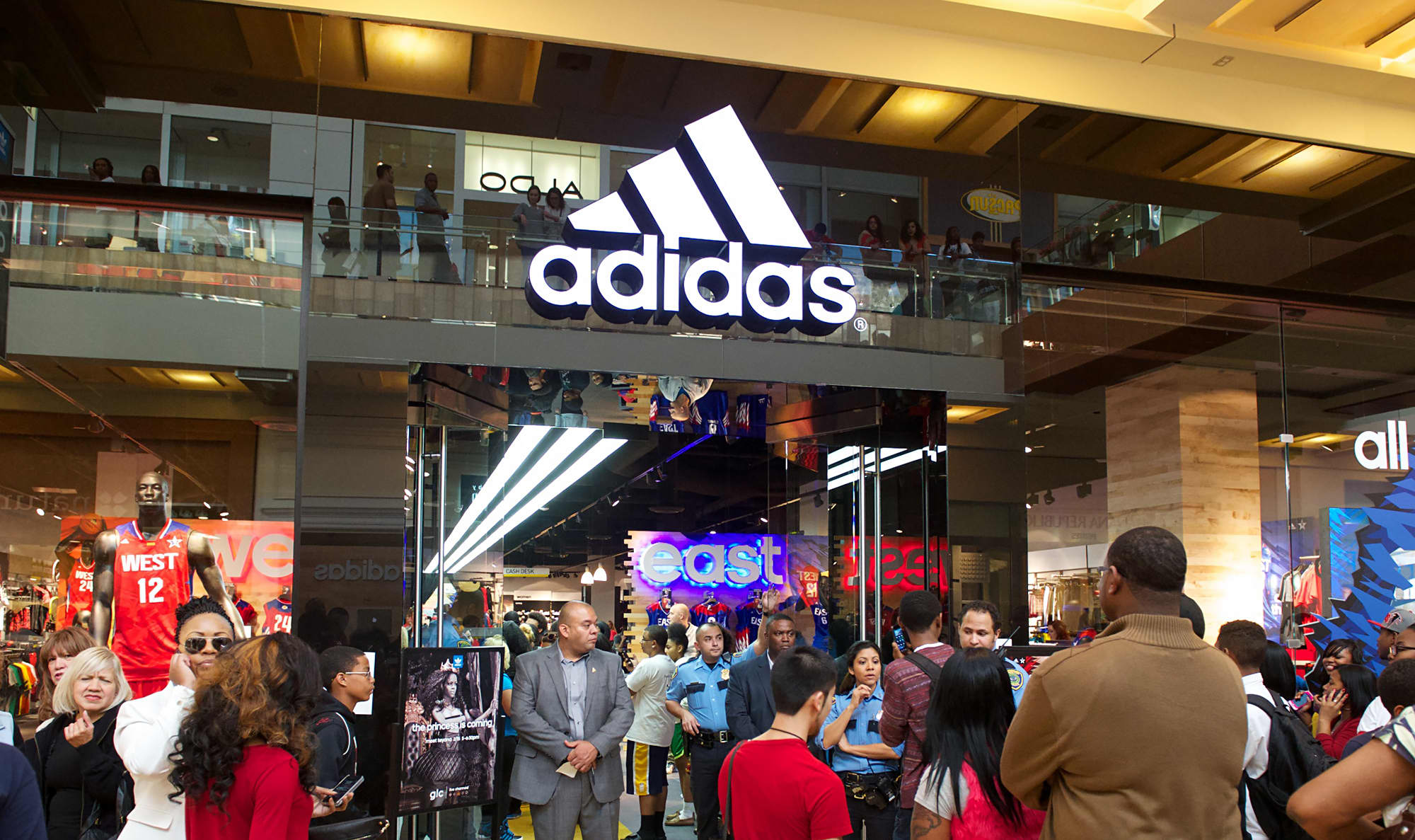 Adidas and Nike supply tactics are an abuse of market dominance, British retail giant says