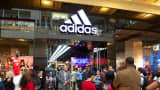 An Adidas Store at the Galleria Mall in Houston