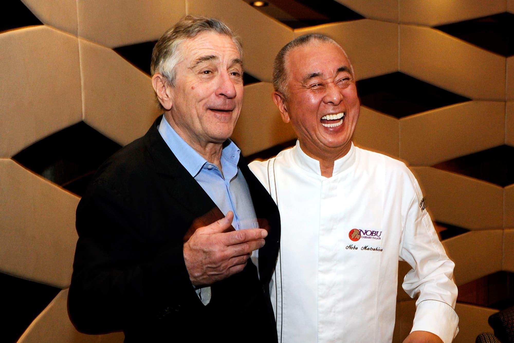 Japanese chef Nobu originally refused Robert De Niro's New York restaurant offer