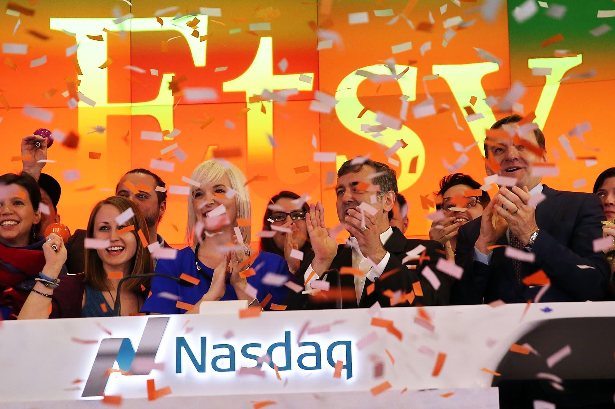 Stocks making the biggest moves midday: Etsy, Virgin Galactic, Foot Locker & more
