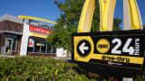 A McDonald's in Sarasota, Florida