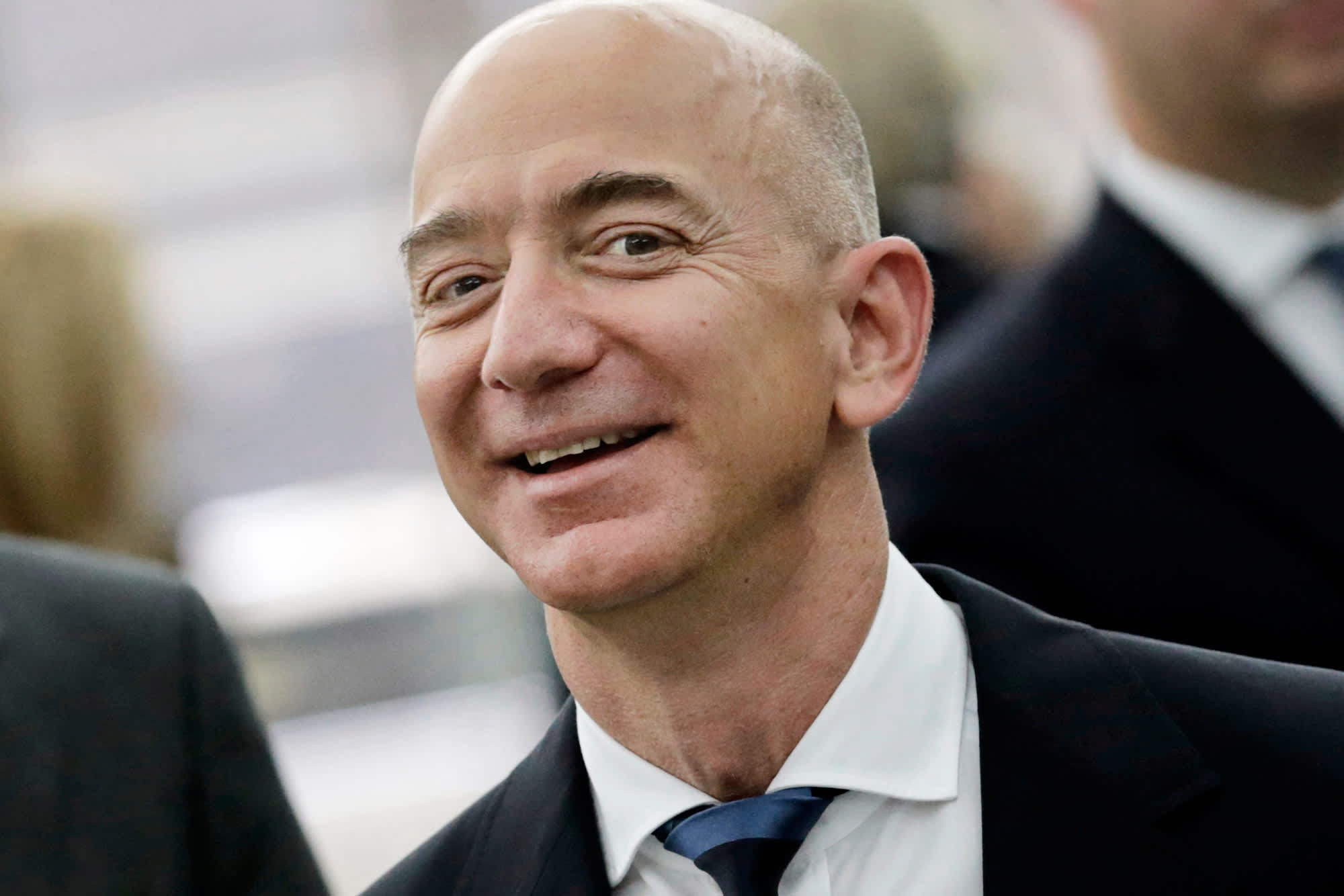 Amazon shares surge 20 percent, market cap surpasses Wal-Mart