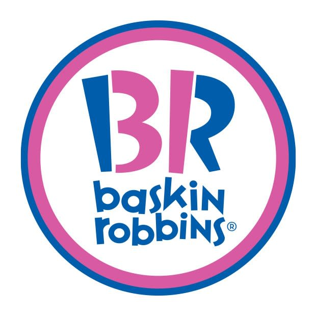 ONE TIME USE: Baskin Robbins logo