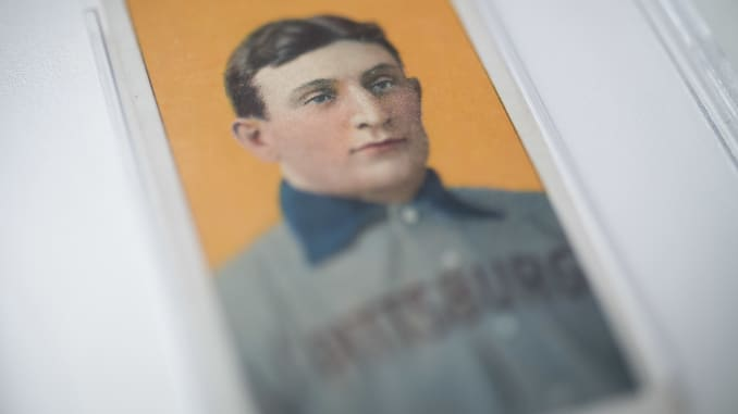 Honus Wagner Card Sold For 132m Bargain