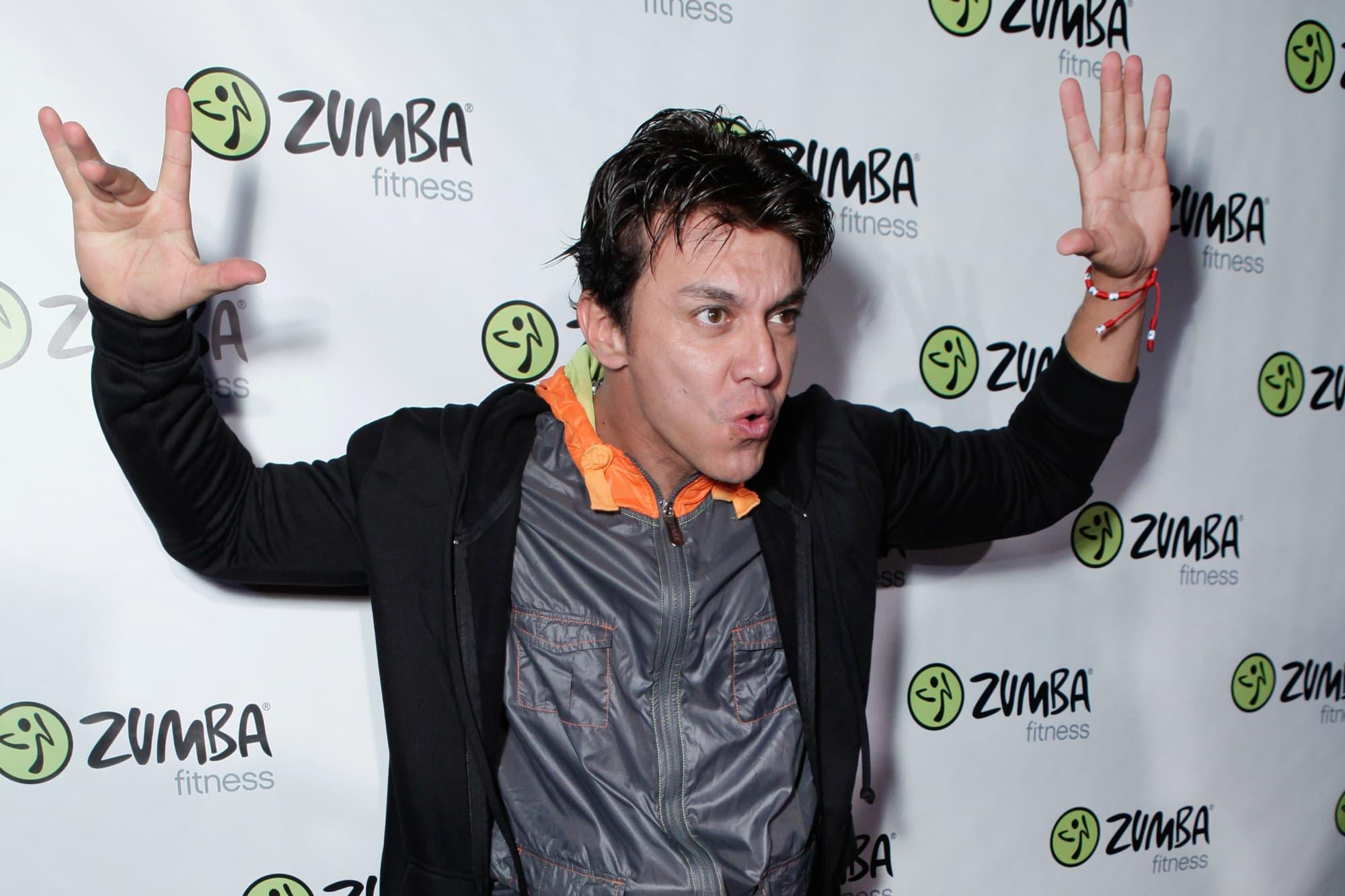 Zumba creator Beto Perez