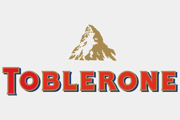ONE TIME USE: Toblerone logo hidden message