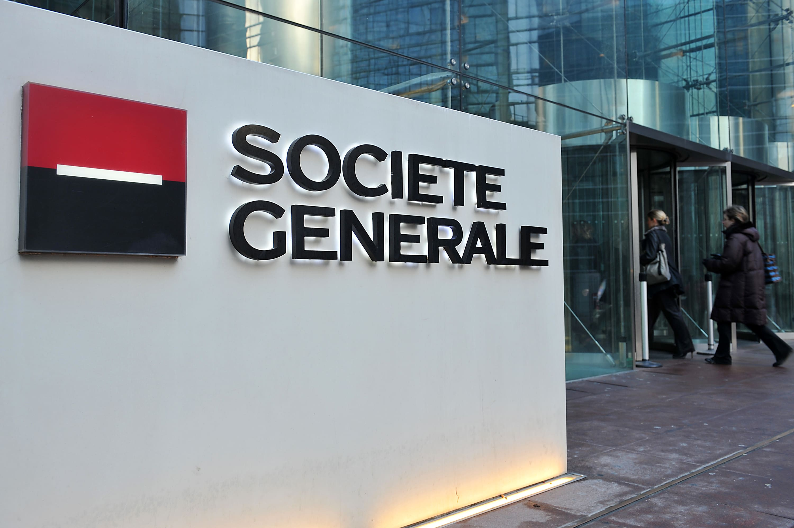 SocGen posts profit beat despite hit from restructuring costs