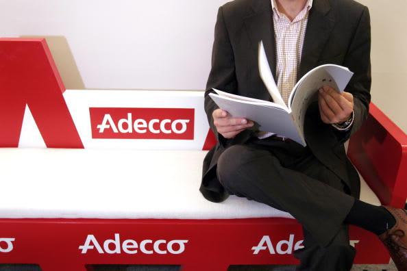 Adecco third-quarter revenue drops as slowdown weighs