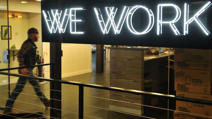 Premium: WeWork co-working office space