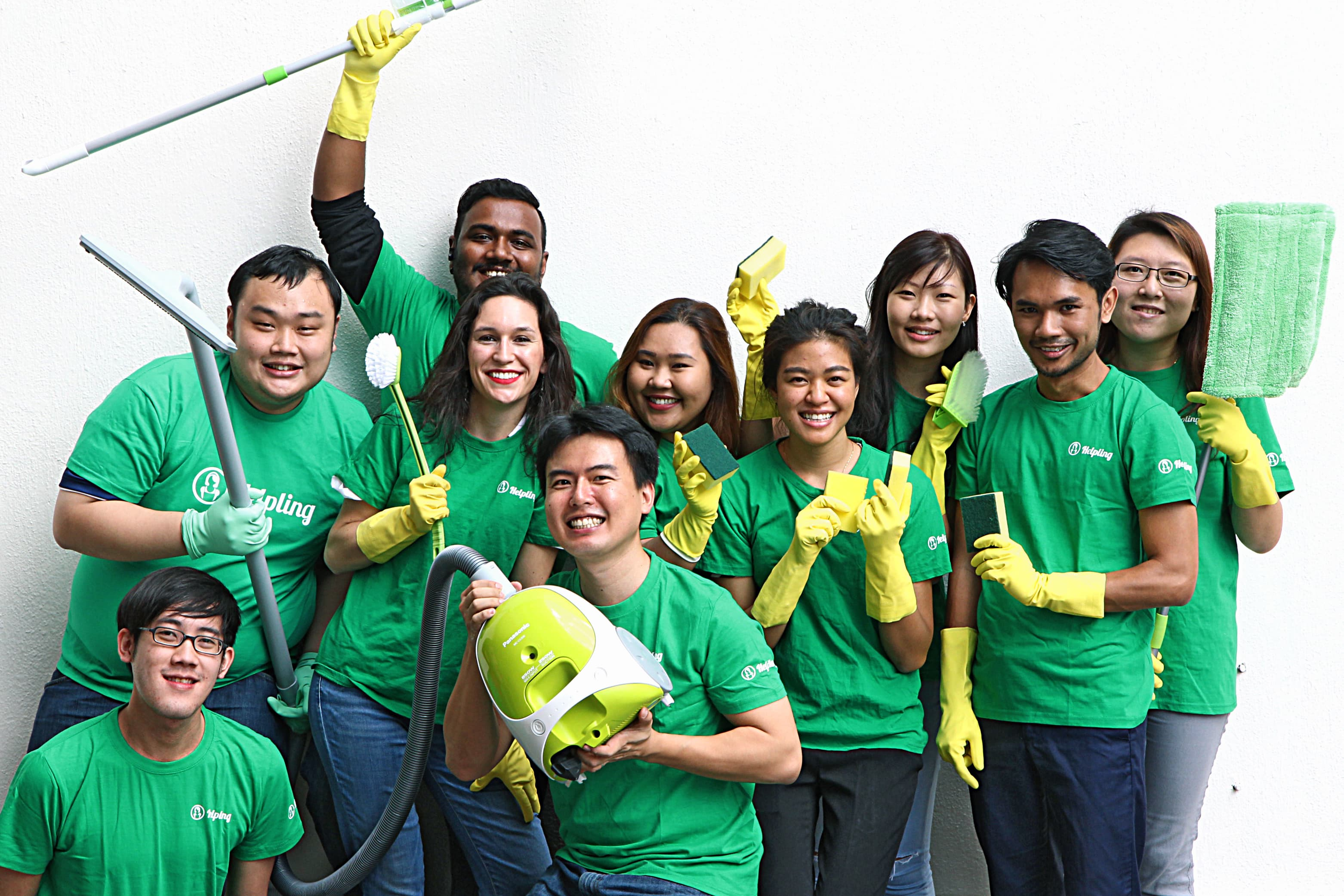 Helpling, the latest disruptor app for cleaners