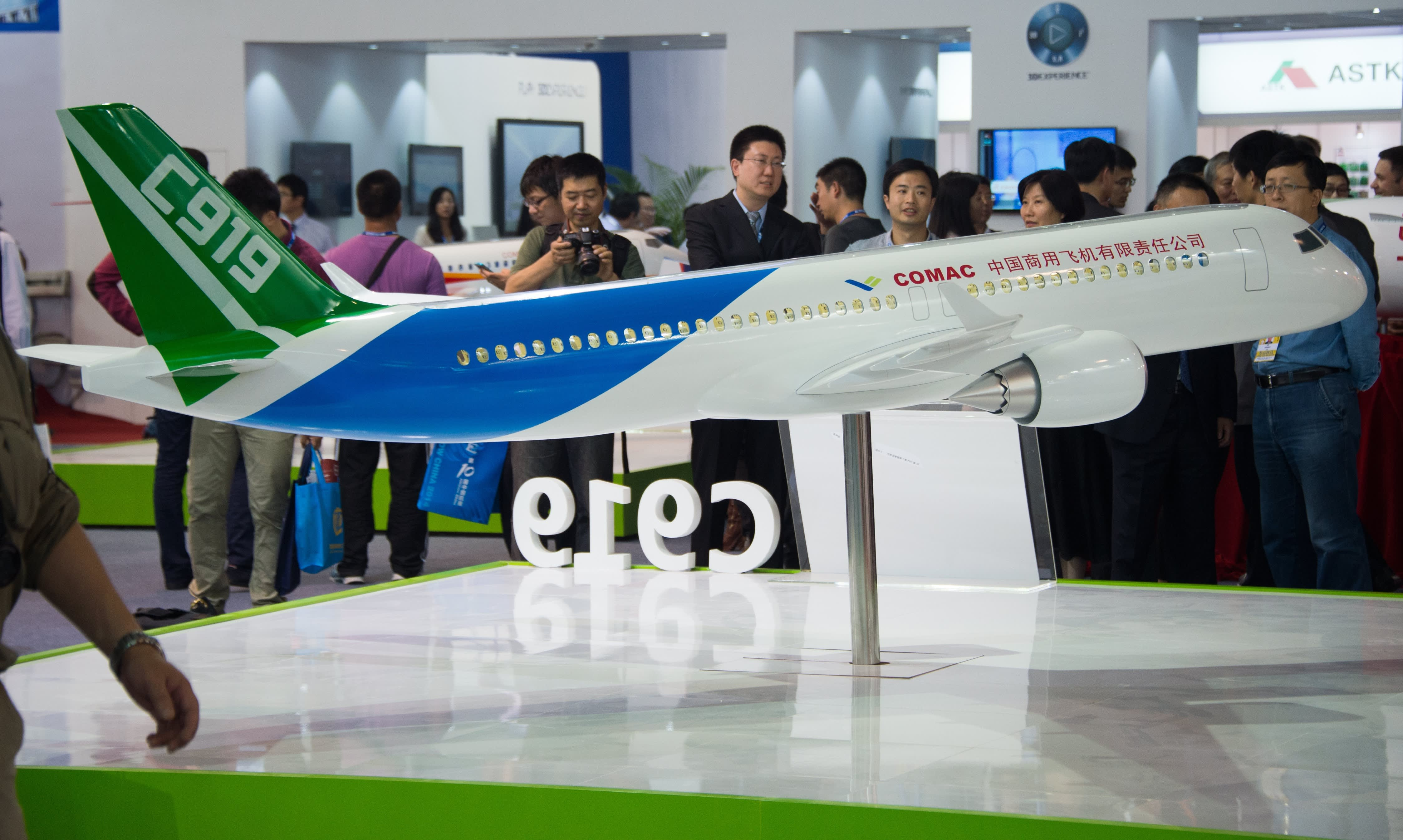 homegrown large passenger plane - HD4495×2692