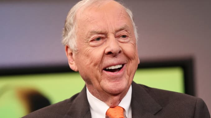 Reusable CNBC: T. Boone Pickens, BP Capital Management 3